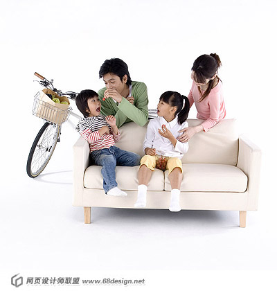Happy Family Characters 15656
