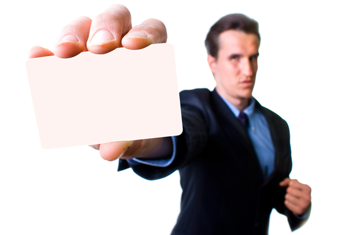 Business people holding blank cardboard 28579