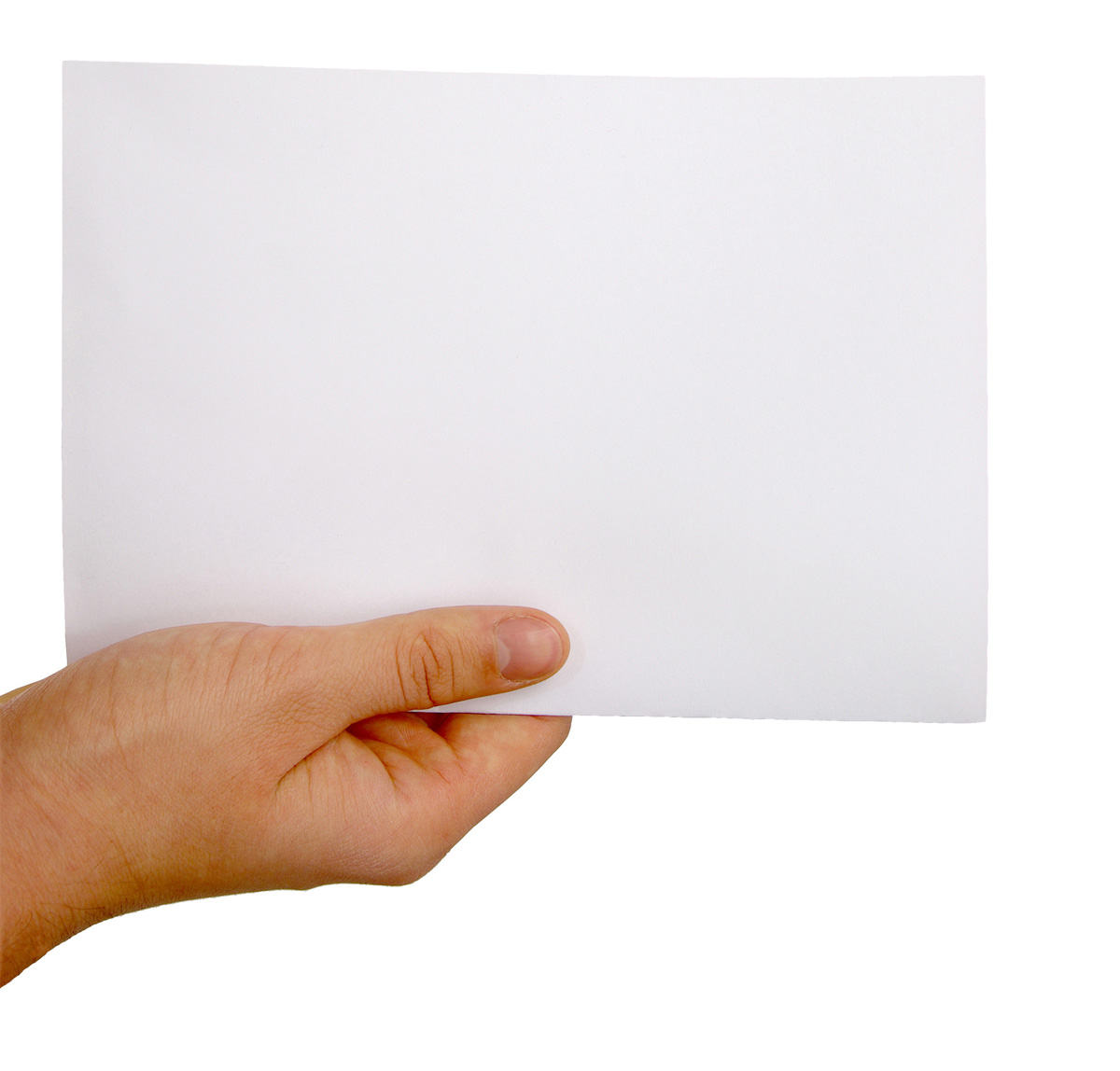Holding paper picture 25652