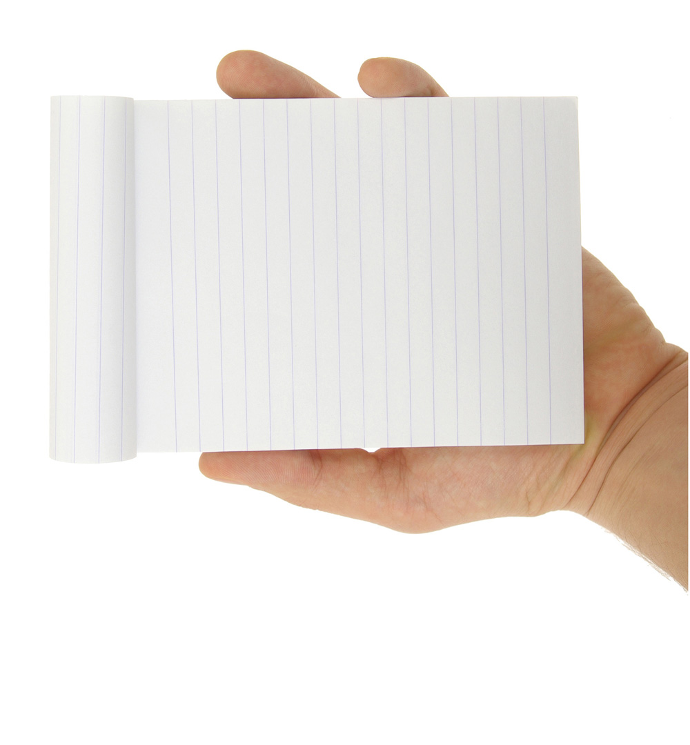Holding paper picture 25680