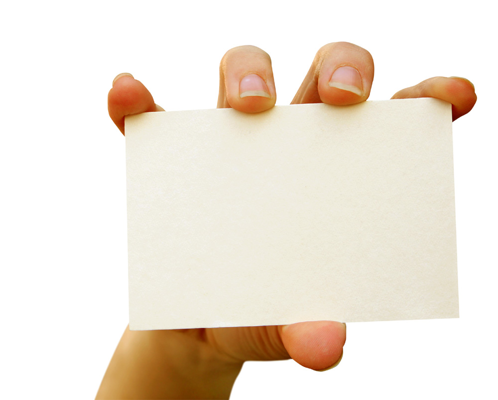 Hand card picture 25805