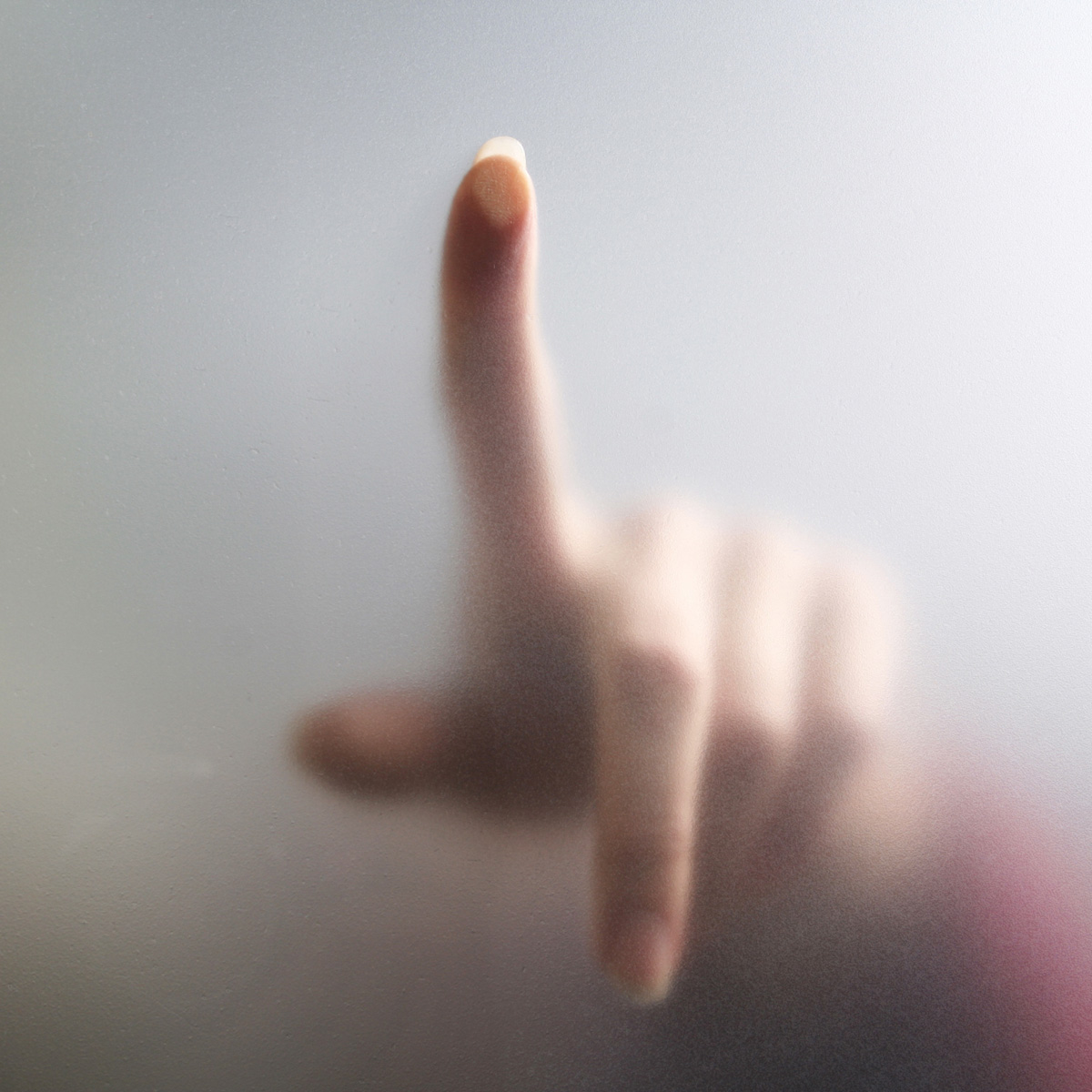Touch screen with a finger 26333