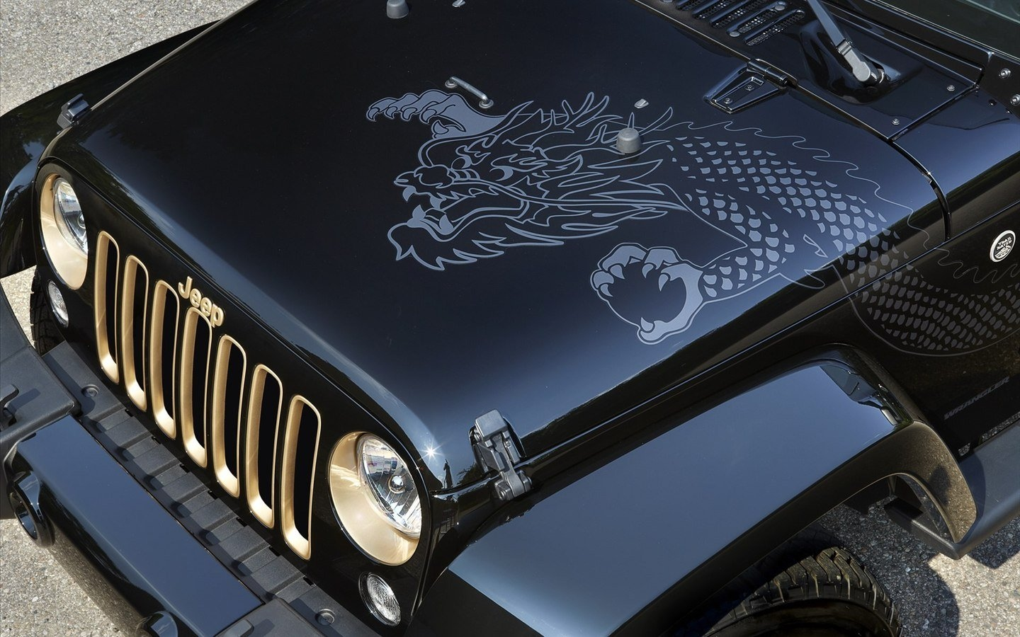 jeep chinese dragon edition hd wallpaper 49519 - automotive
