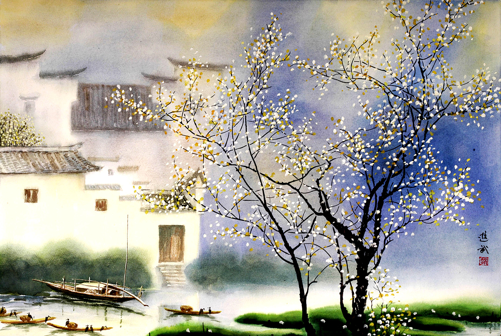 Jason Jiang watercolor 49525