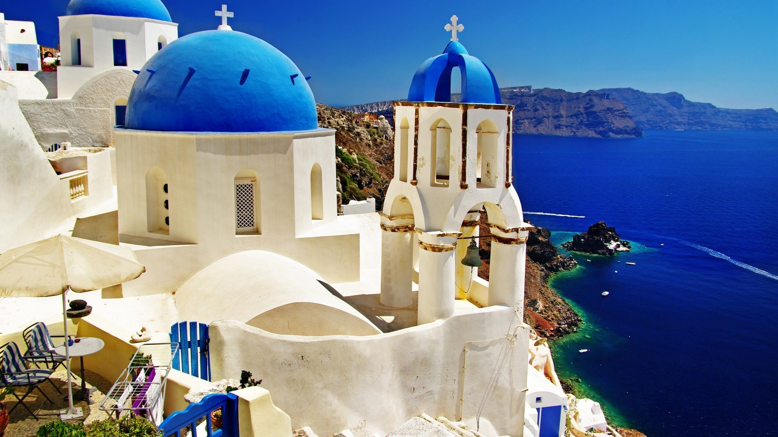 Santorini beautiful wallpaper 49543