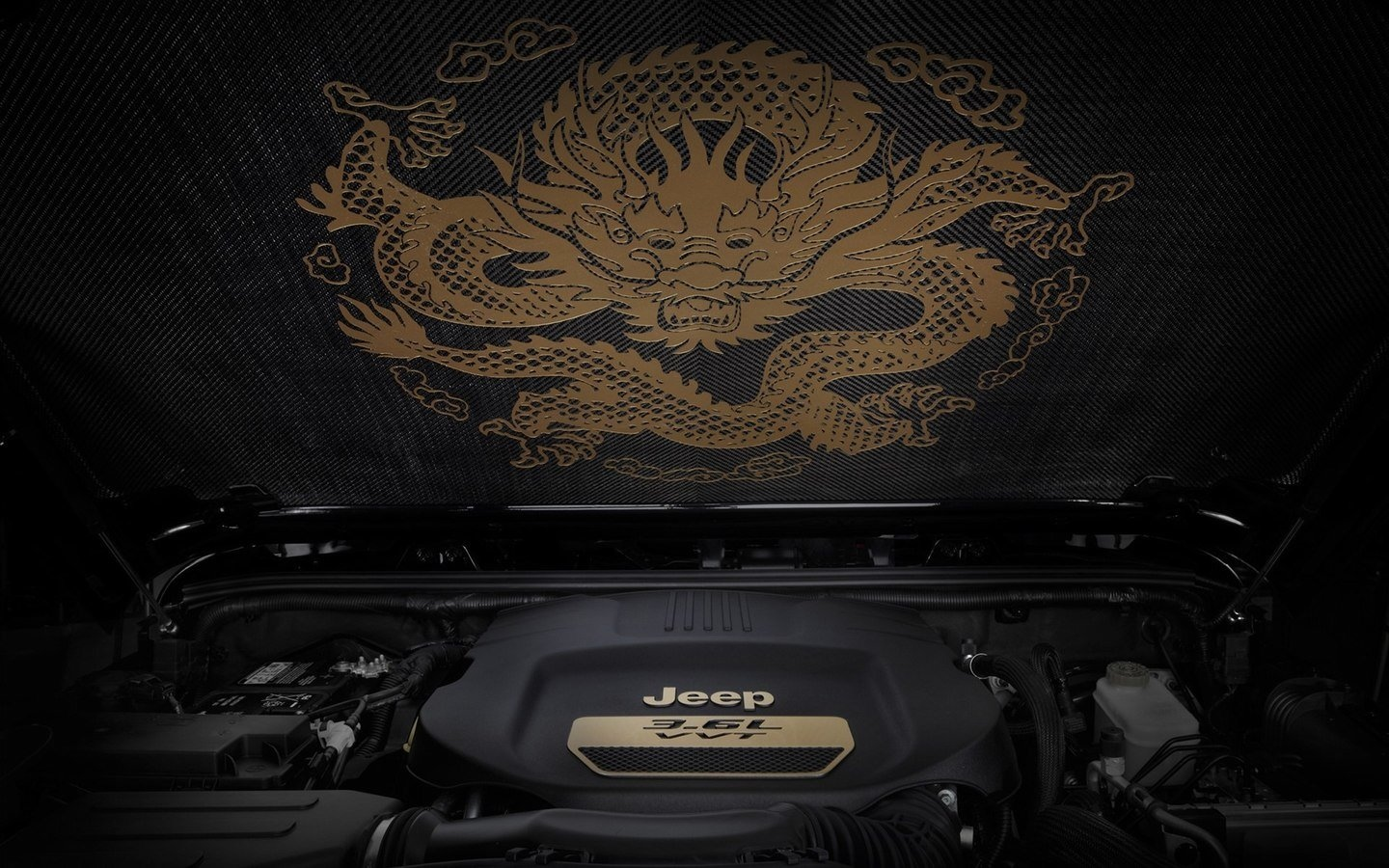 JEEP Chinese Dragon Edition HD Wallpaper 49544
