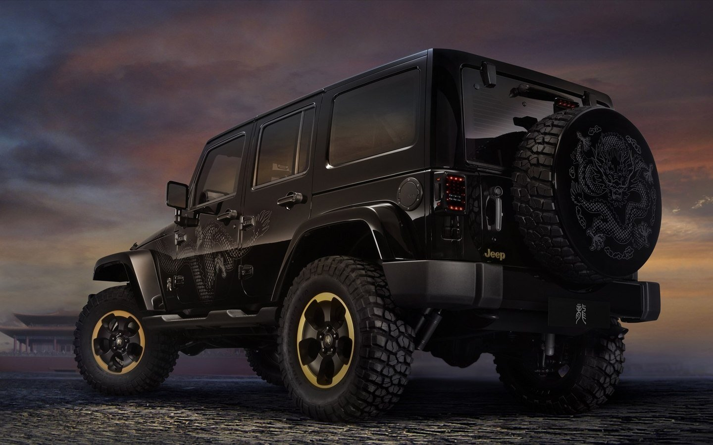 JEEP Chinese Dragon Edition HD Wallpaper 49568