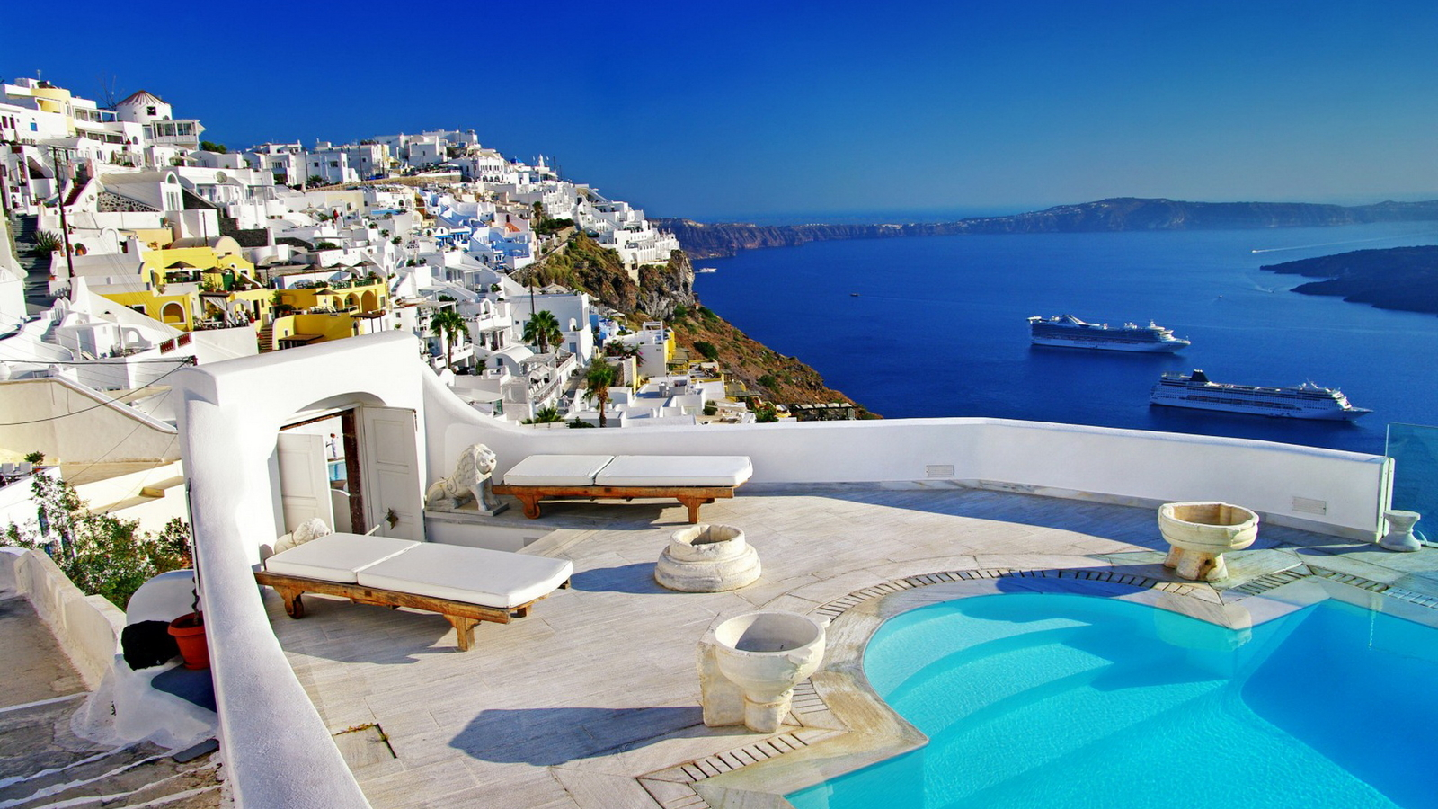 Santorini beautiful wallpaper 49588