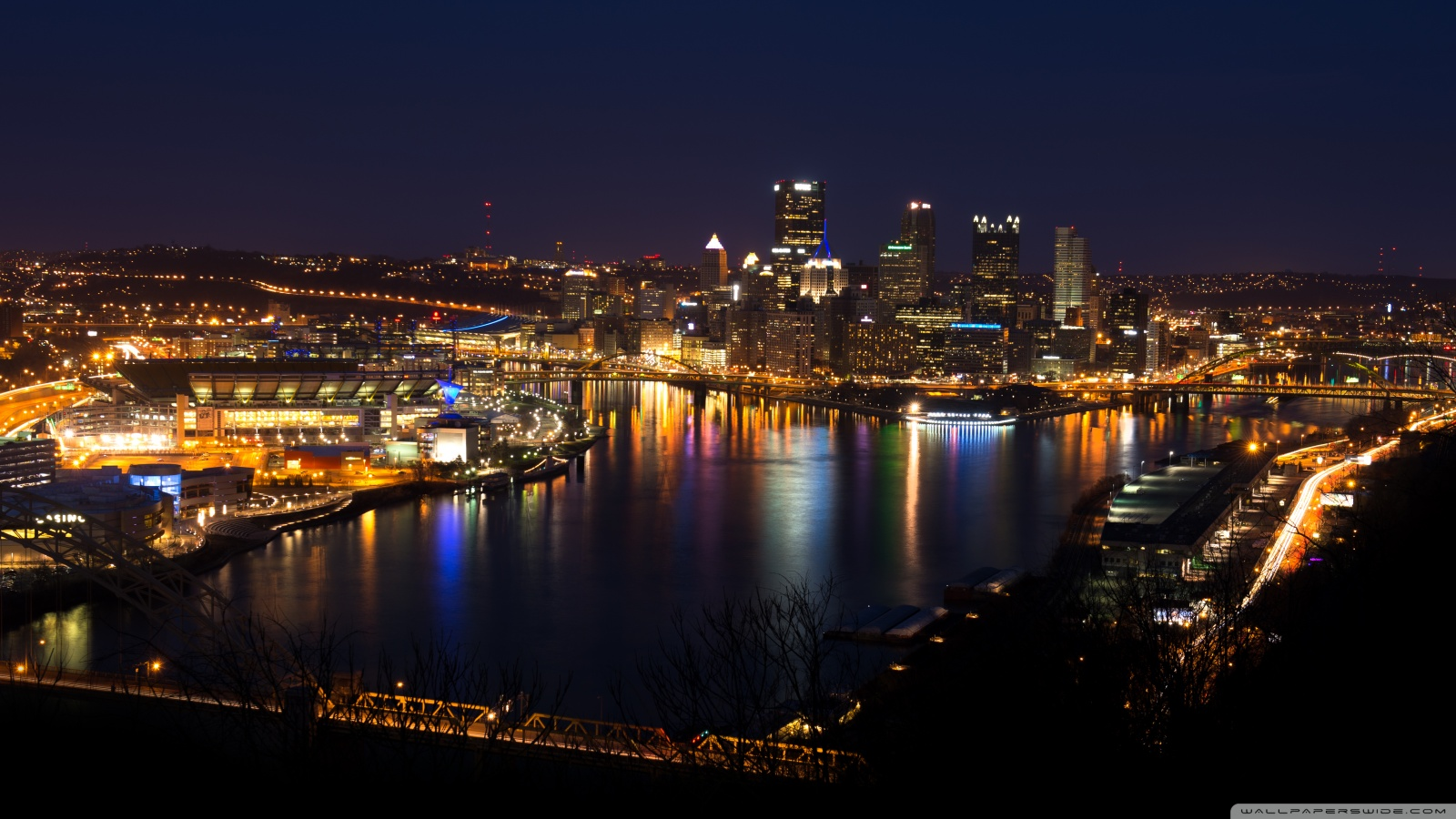Pittsburgh skyline wallpaper 49592