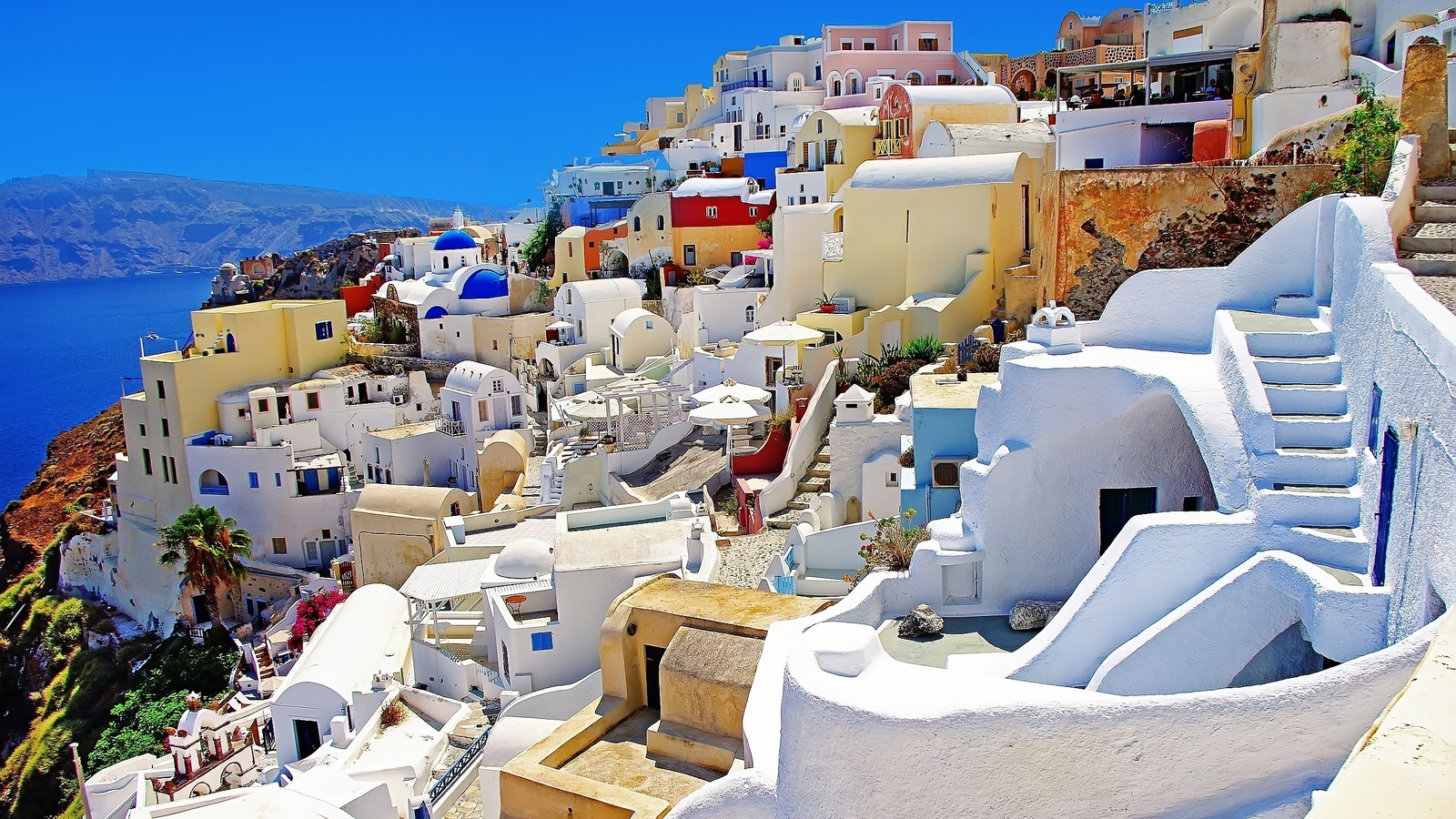 Santorini beautiful wallpaper 49607