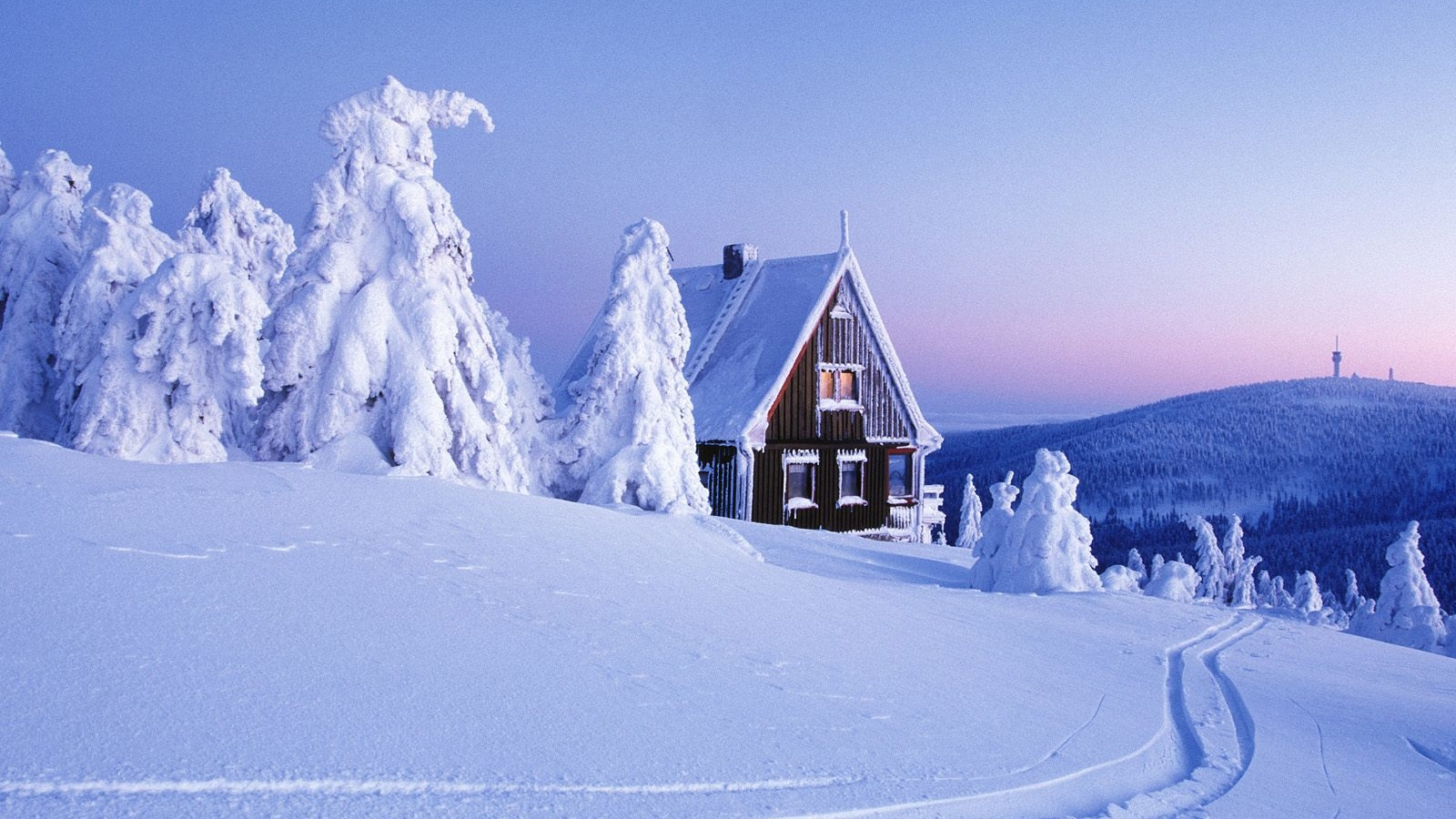 Winter Snow Desktop Wallpaper HD 49780