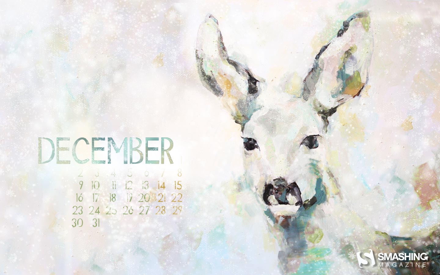 Month Calendar Wallpaper Christmas Edition 49791