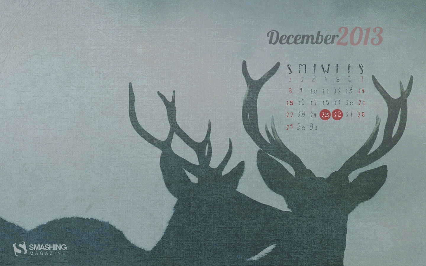 Month Calendar Wallpaper Christmas Edition 49805