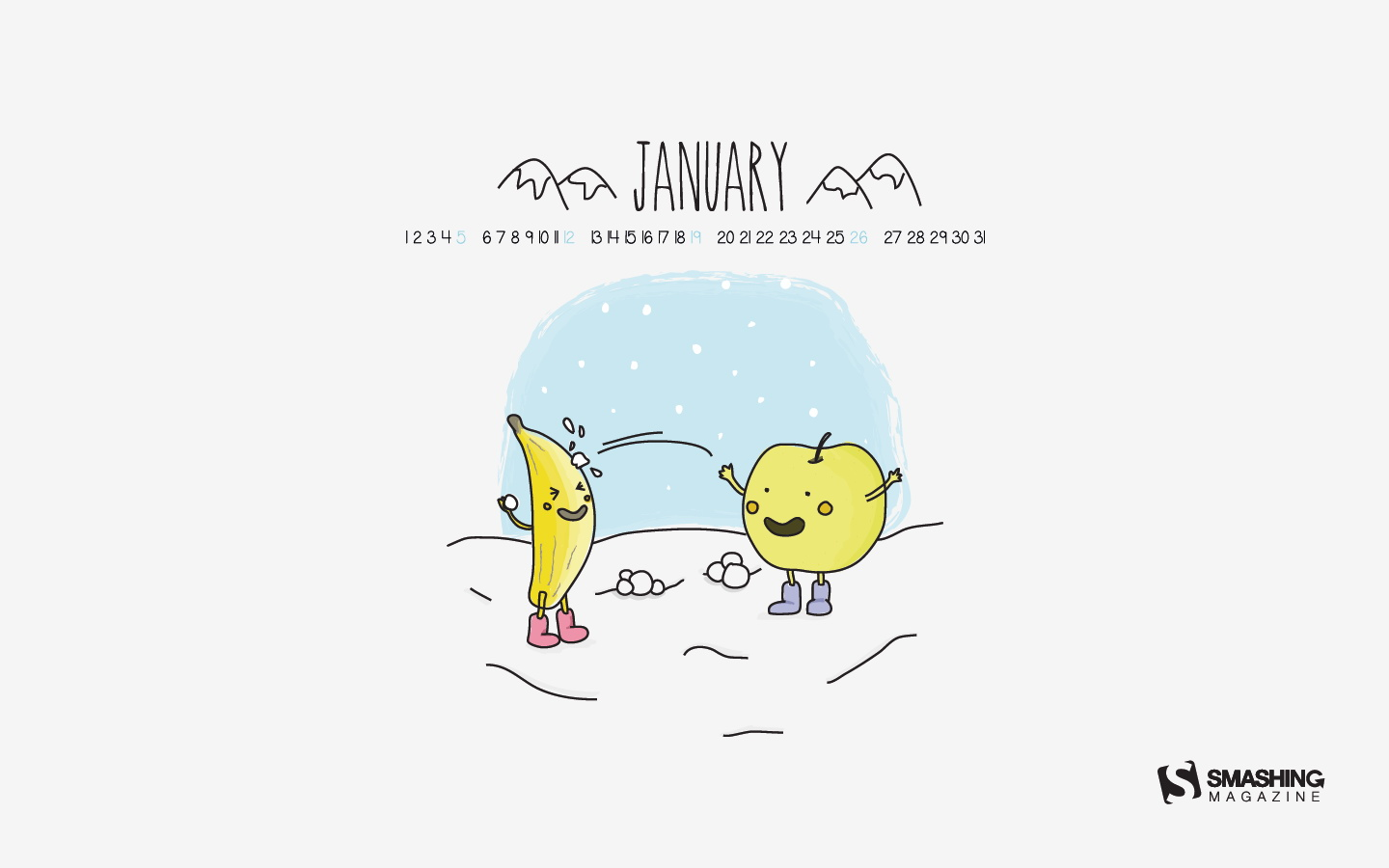 In January Calendar Wallpaper 49857