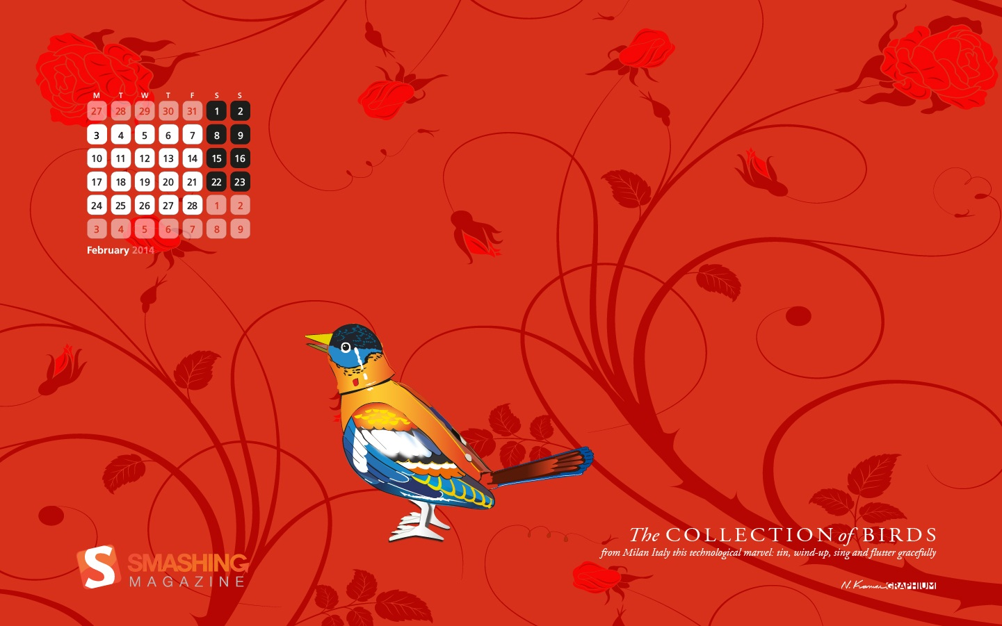 In January Calendar Wallpaper 49881