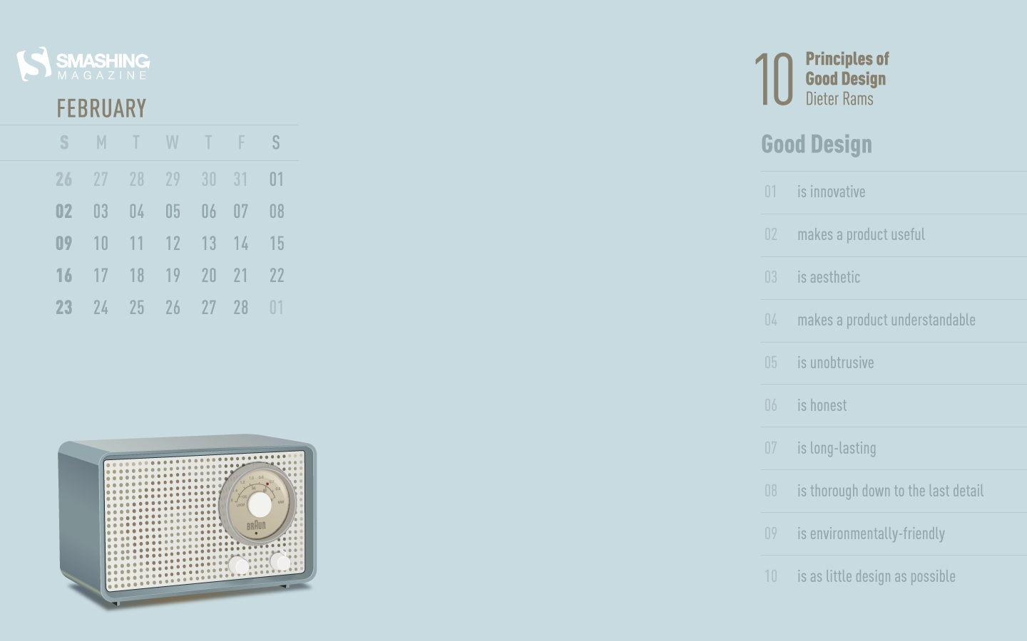 In January Calendar Wallpaper 49889