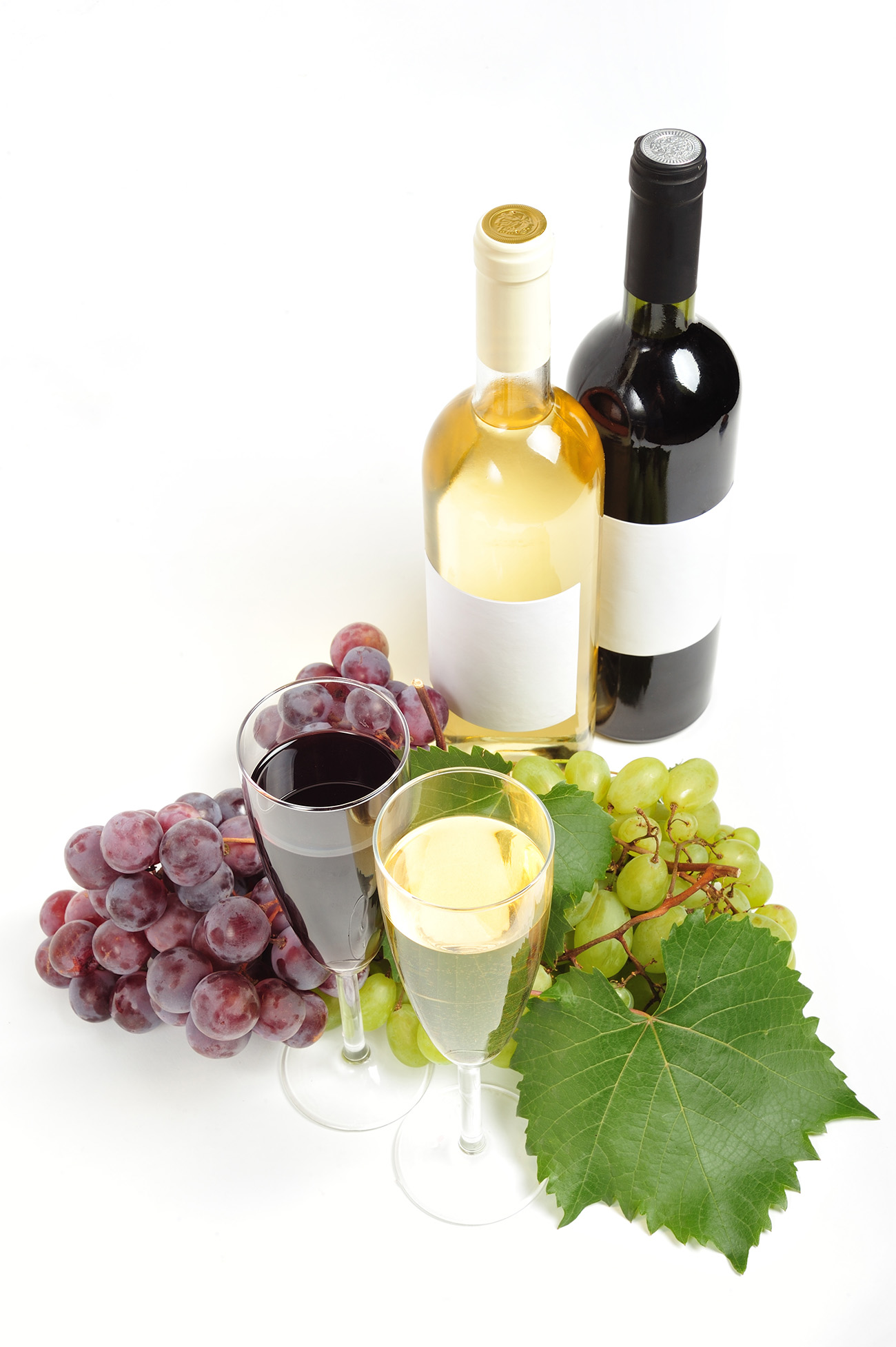 Grape and wine goblets 49956