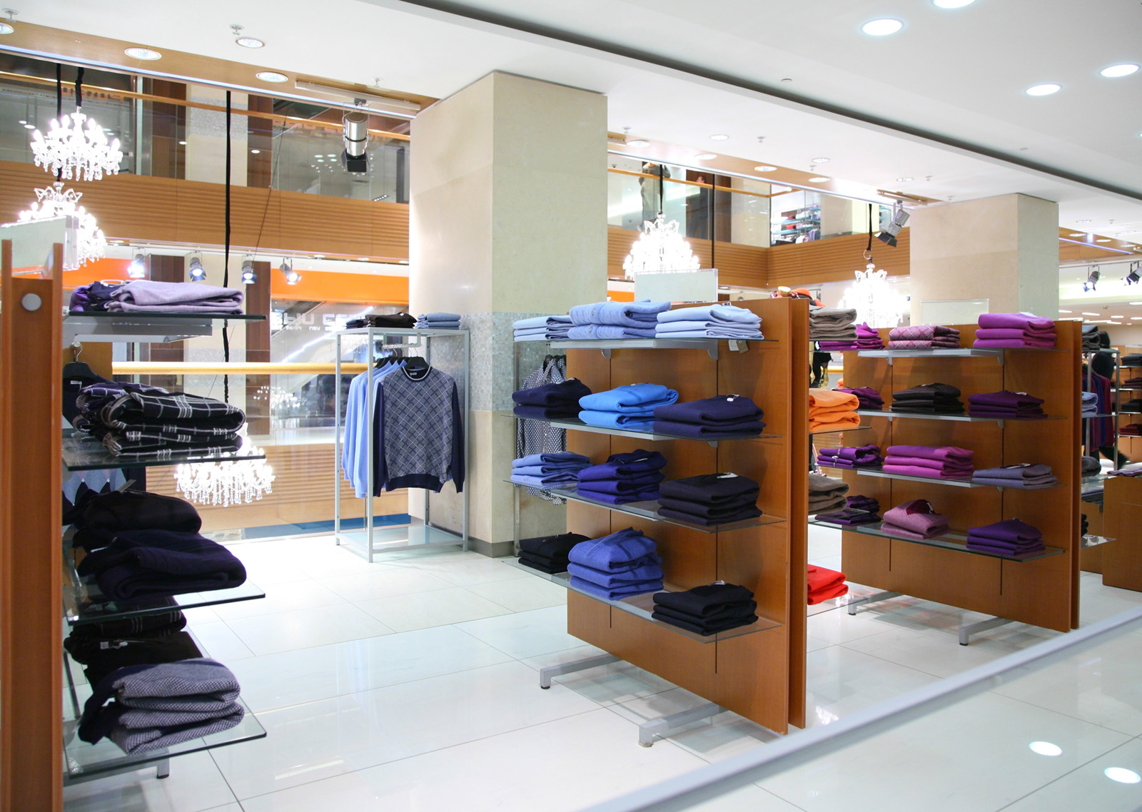 Clothes Neatly In Clothing Store 50059 Building Home Decoration City Building