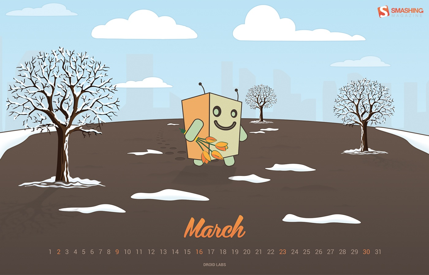 In January Calendar Wallpaper 50081