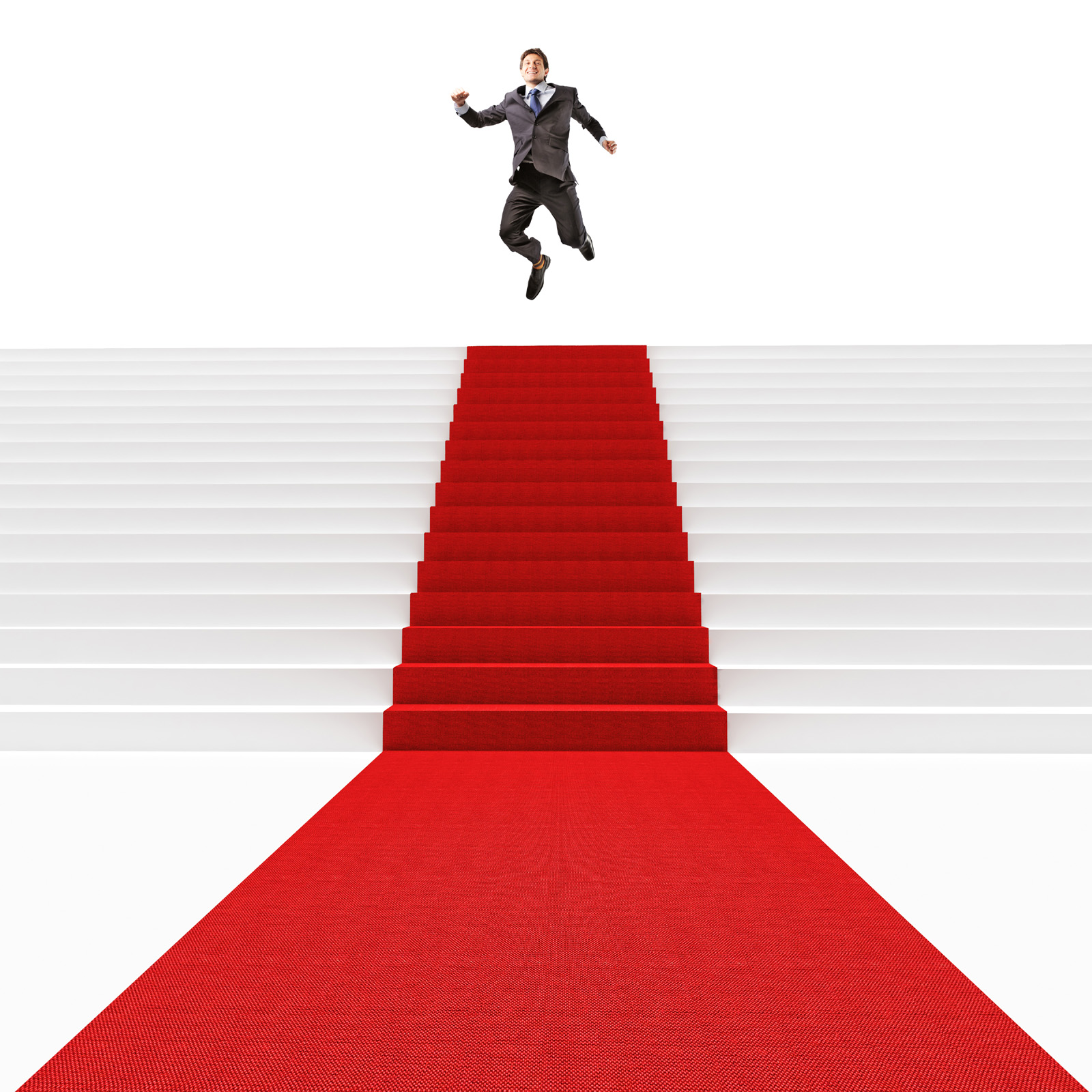 Red carpet and stairs 50101