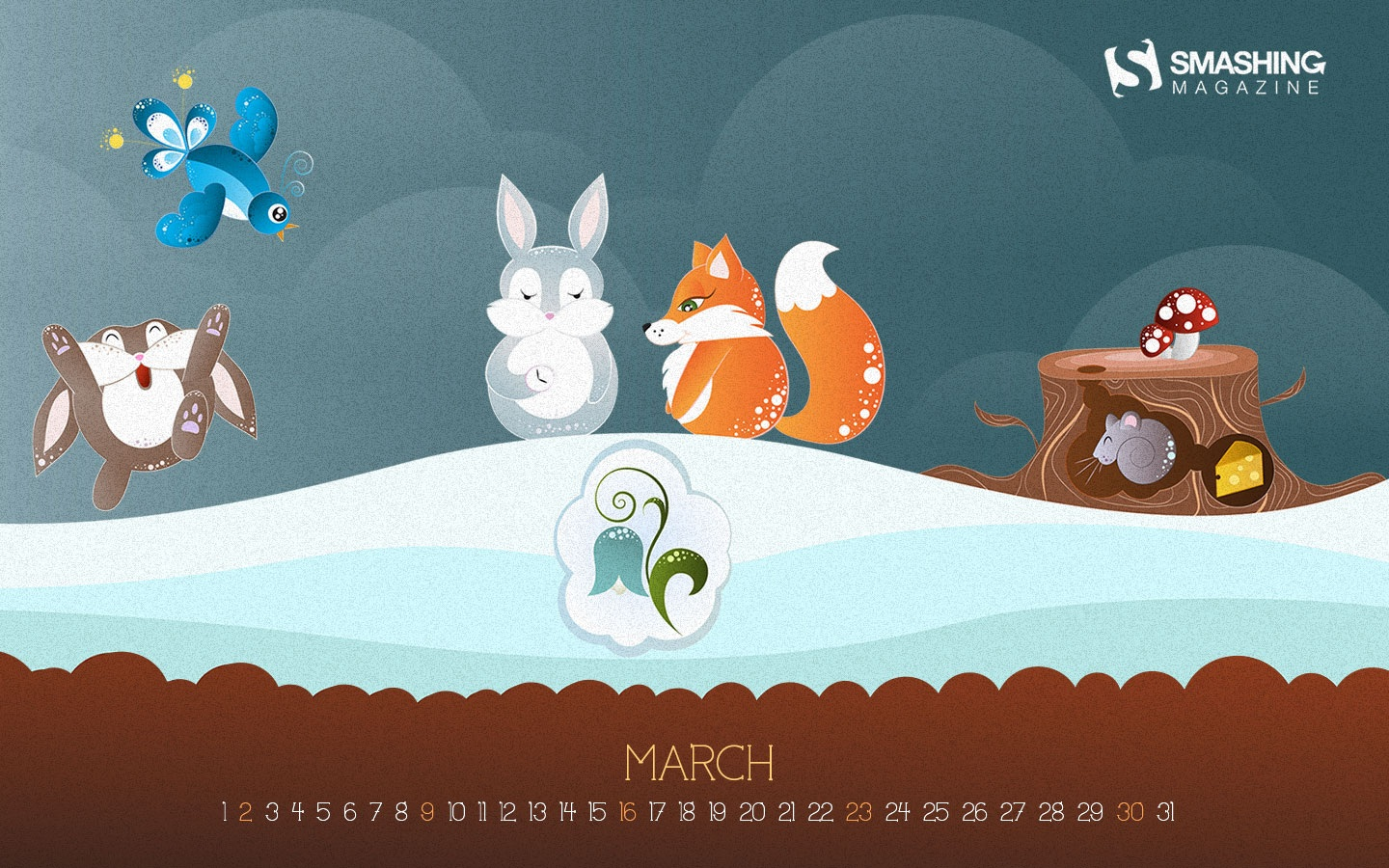 In January Calendar Wallpaper 50122