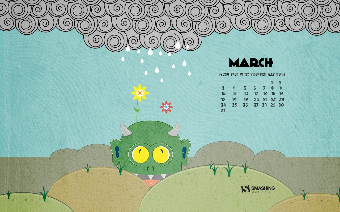In January Calendar Wallpaper 50157