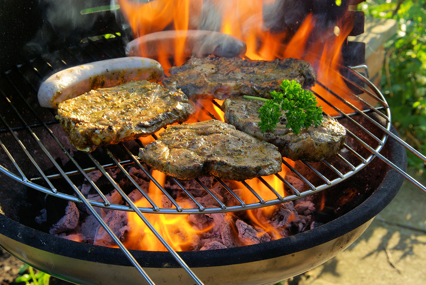 Charcoal grill beef 50168