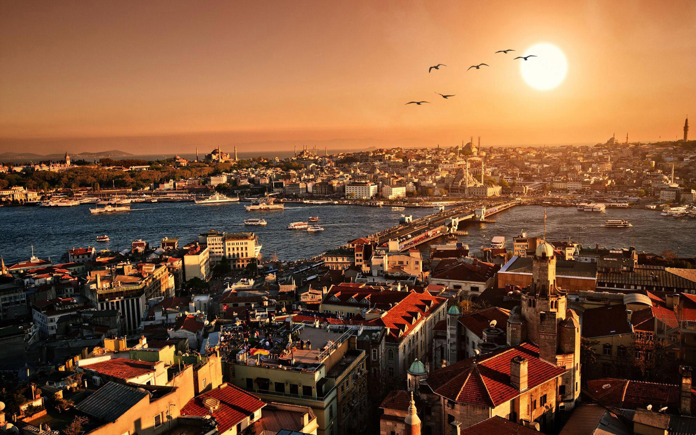 Sunset in Istanbul, Turkey 50252