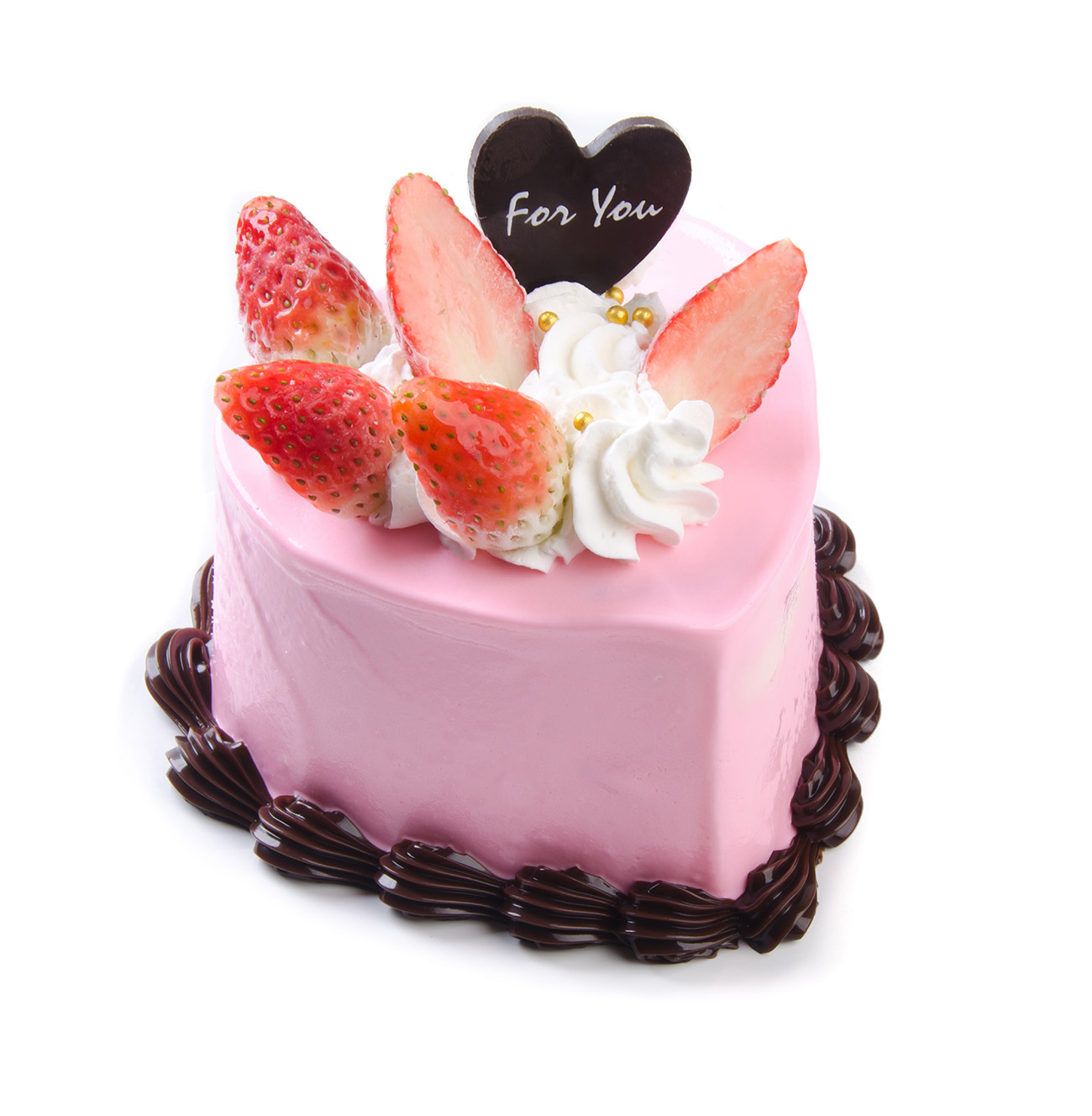Strawberry cream chocolate cake 50296
