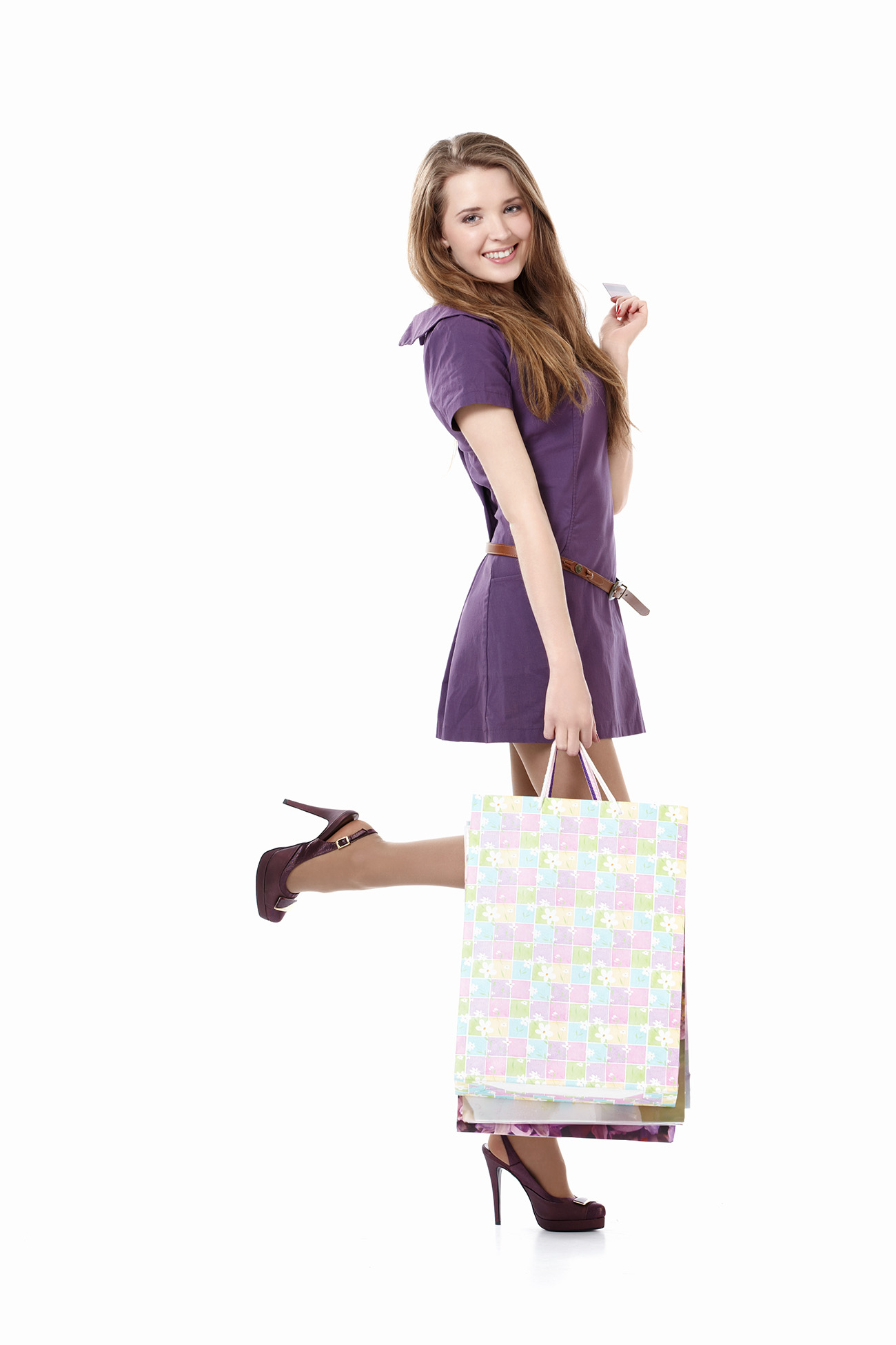 Hand carry shopping bags beauty 50432