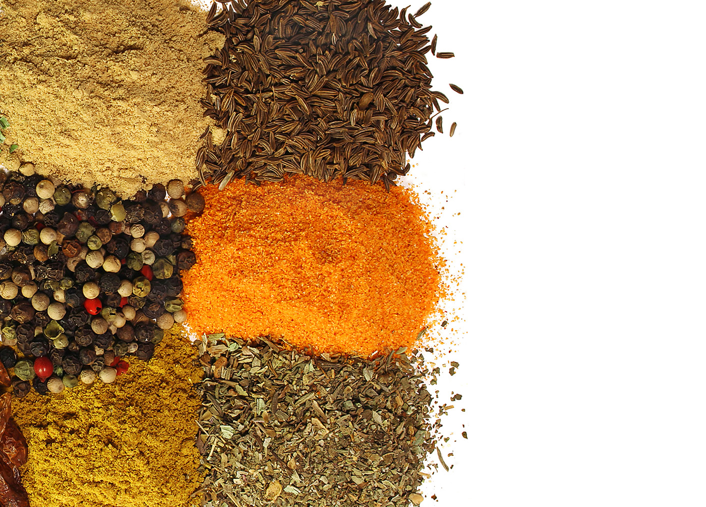 A variety of cooking spices 50453