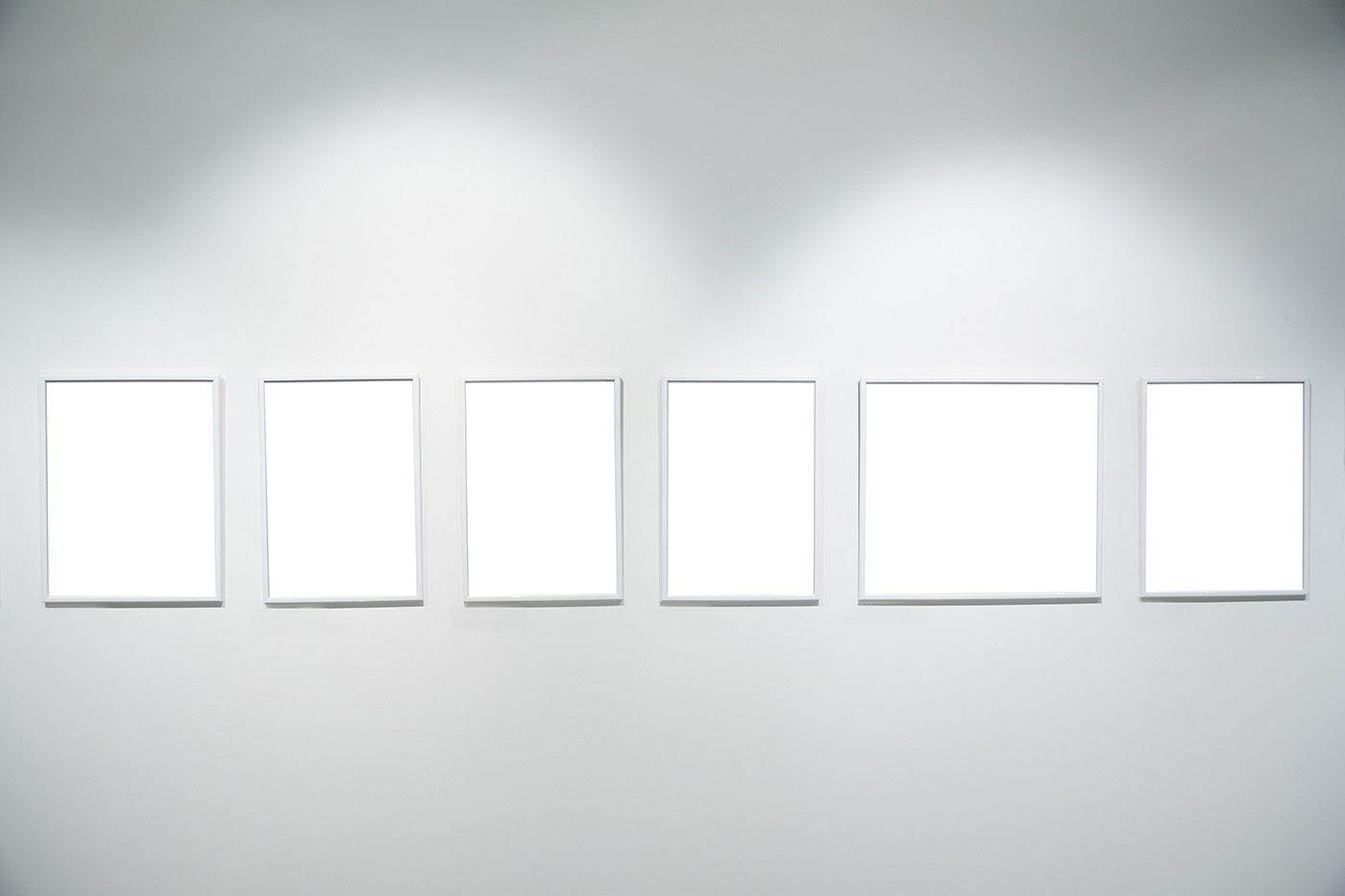 Blank frame of the exhibition room 50455