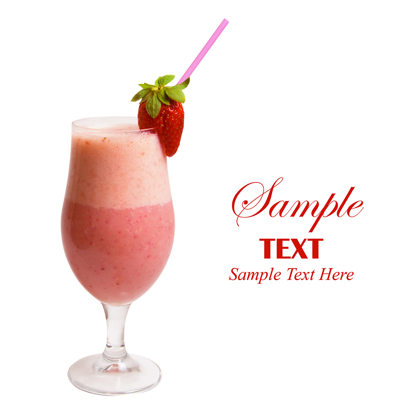 Strawberry milkshake 50472