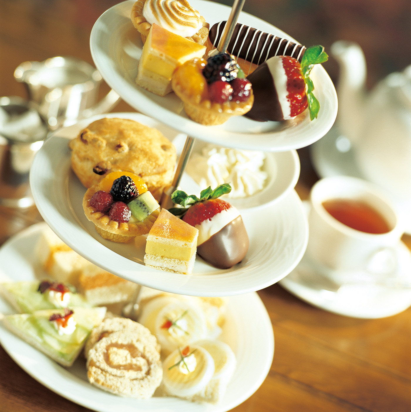 English afternoon tea 50675