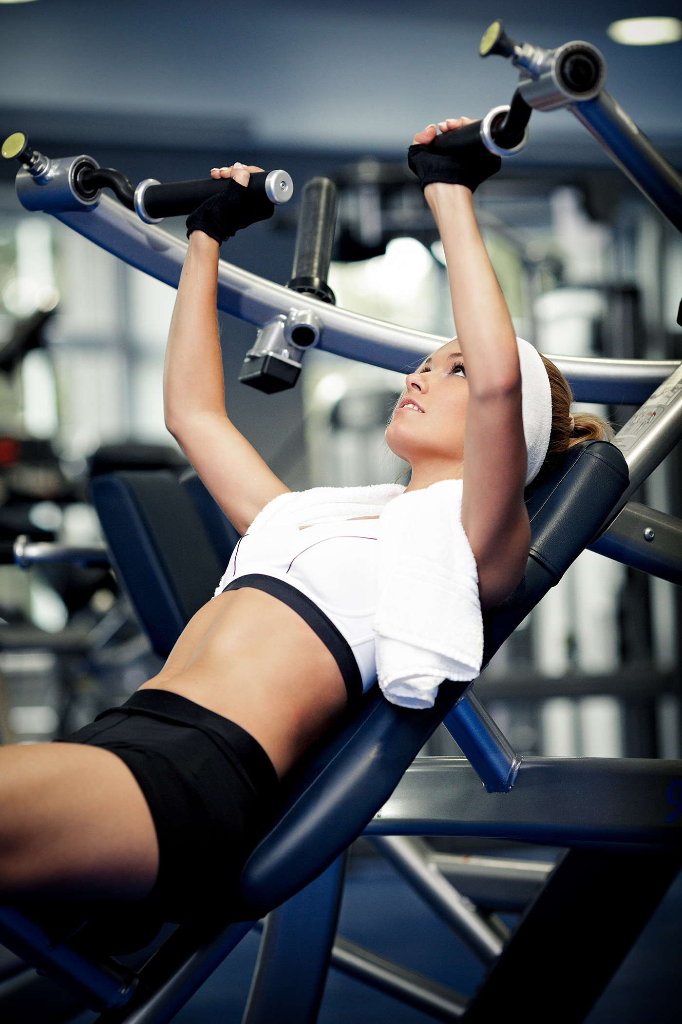 People doing fitness exercise beauty 50691