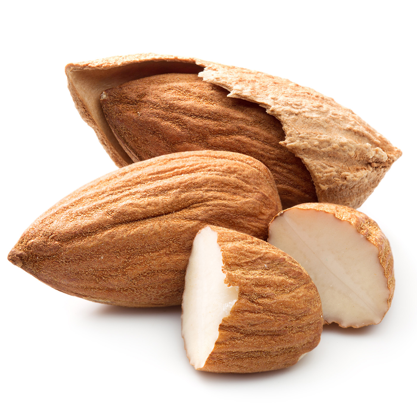 Large pieces of thin almond fruit 50746