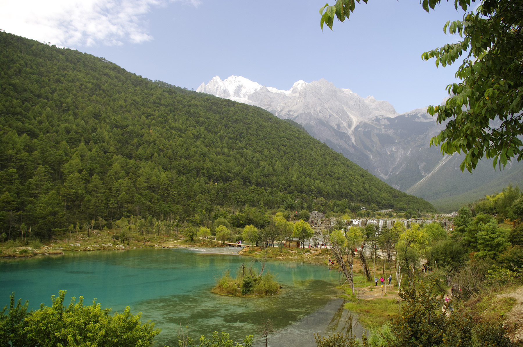 Blue Moon Lake scenery of Lijiang, Yunnan 50796