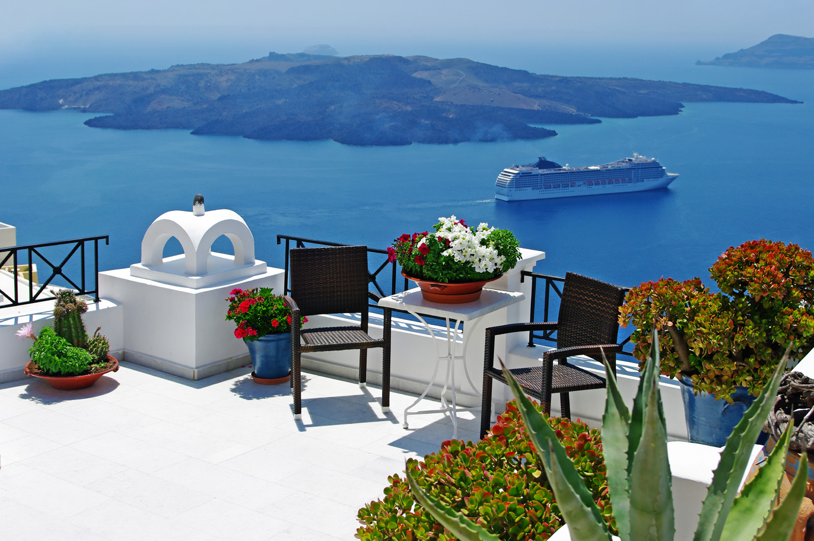 Greece Santorini island scenery 51066