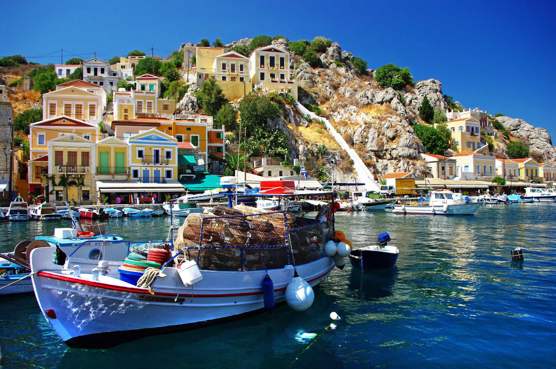 Greek tourism natural scenery in Southern Europe 51081