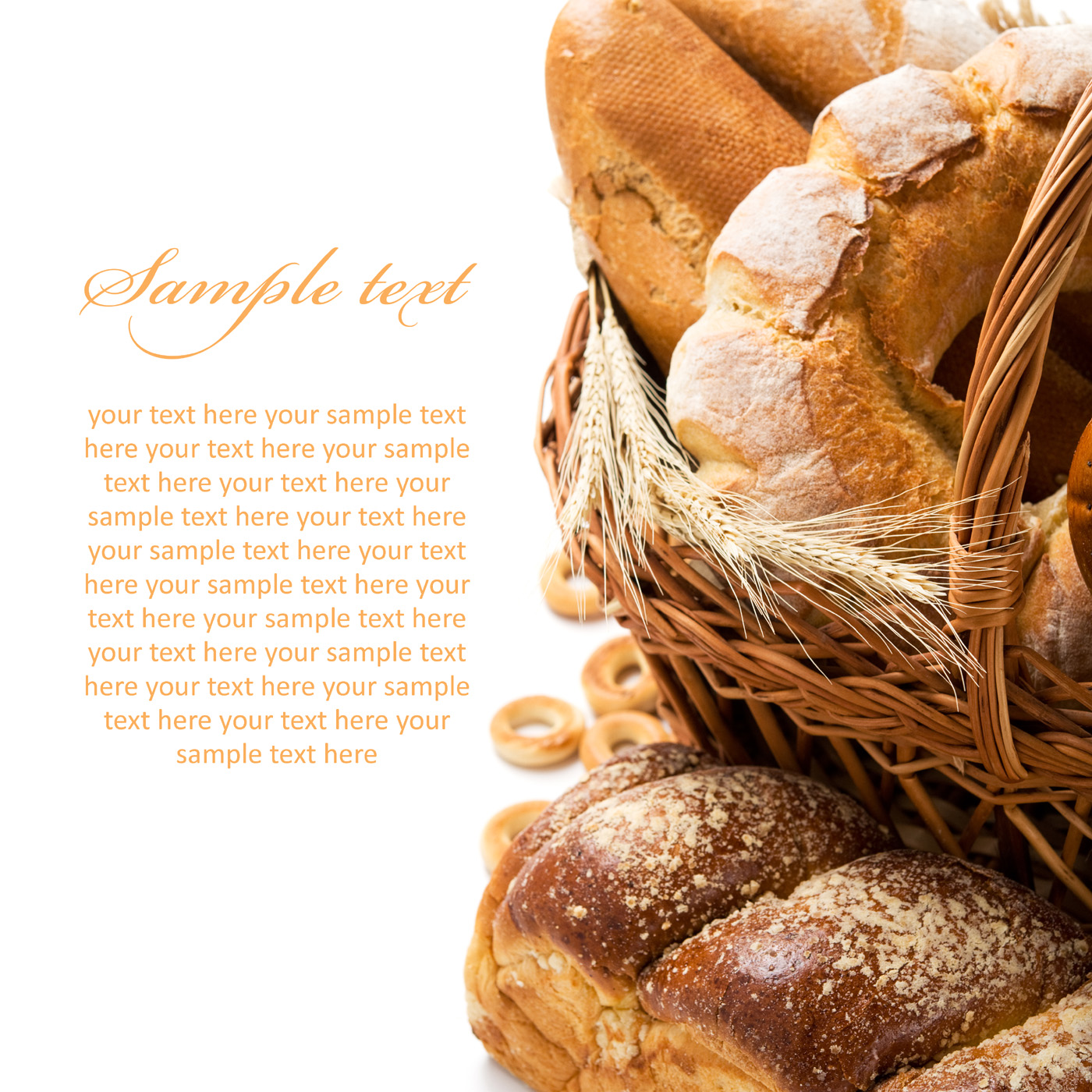 The basket of toast 51091
