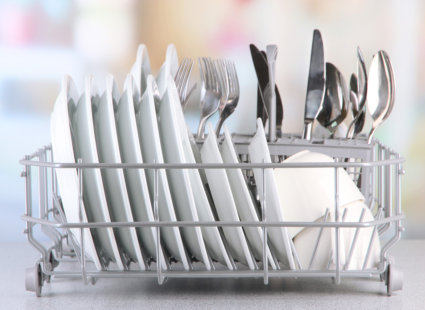 Dishes dish rack cutlery 51112