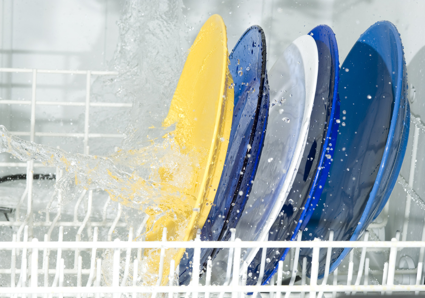 Splash and spray the dish rack 51151
