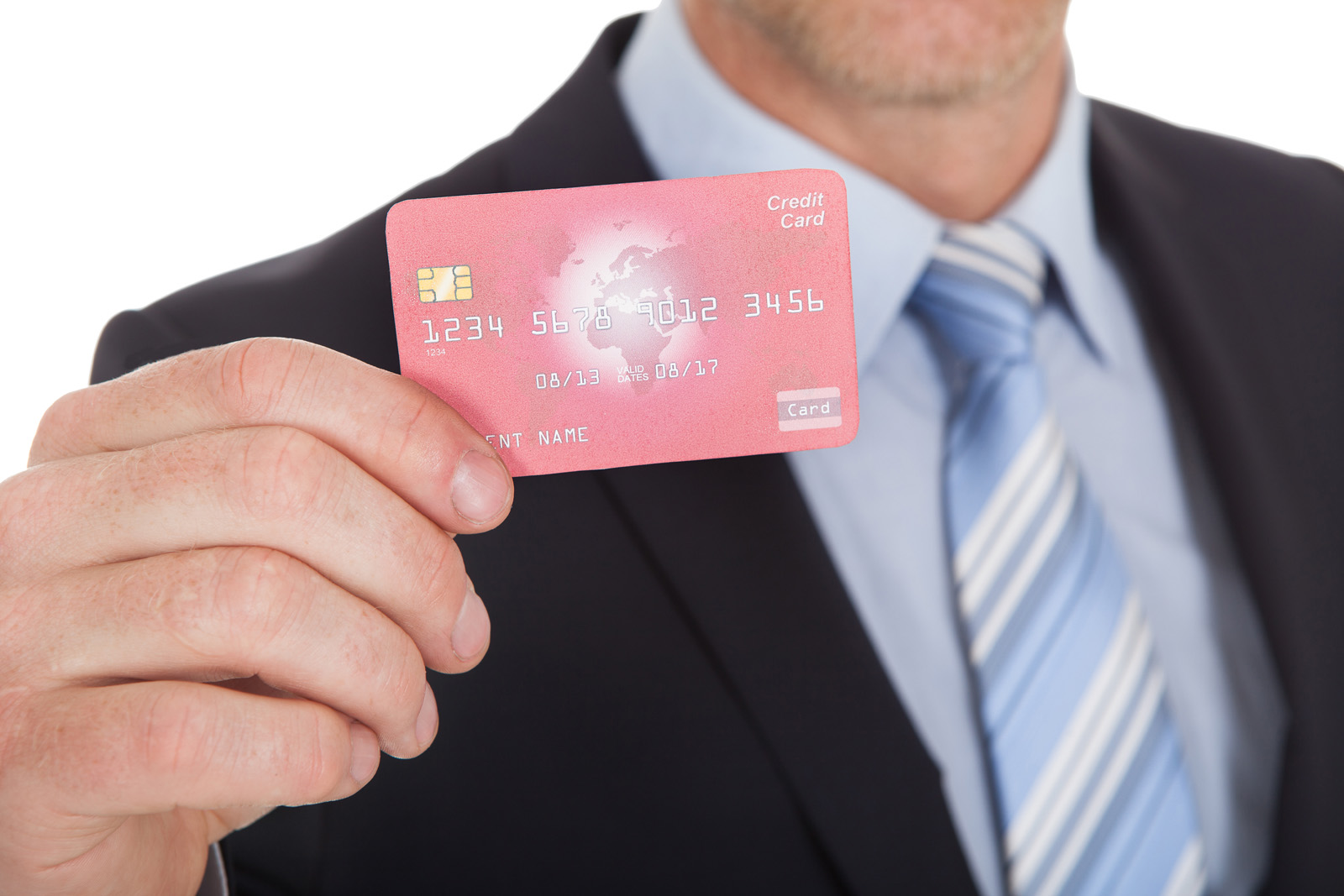 Holding bank card 51223