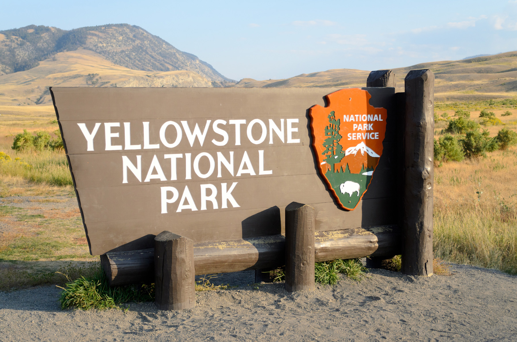 Yellowstone National Park signs 51228