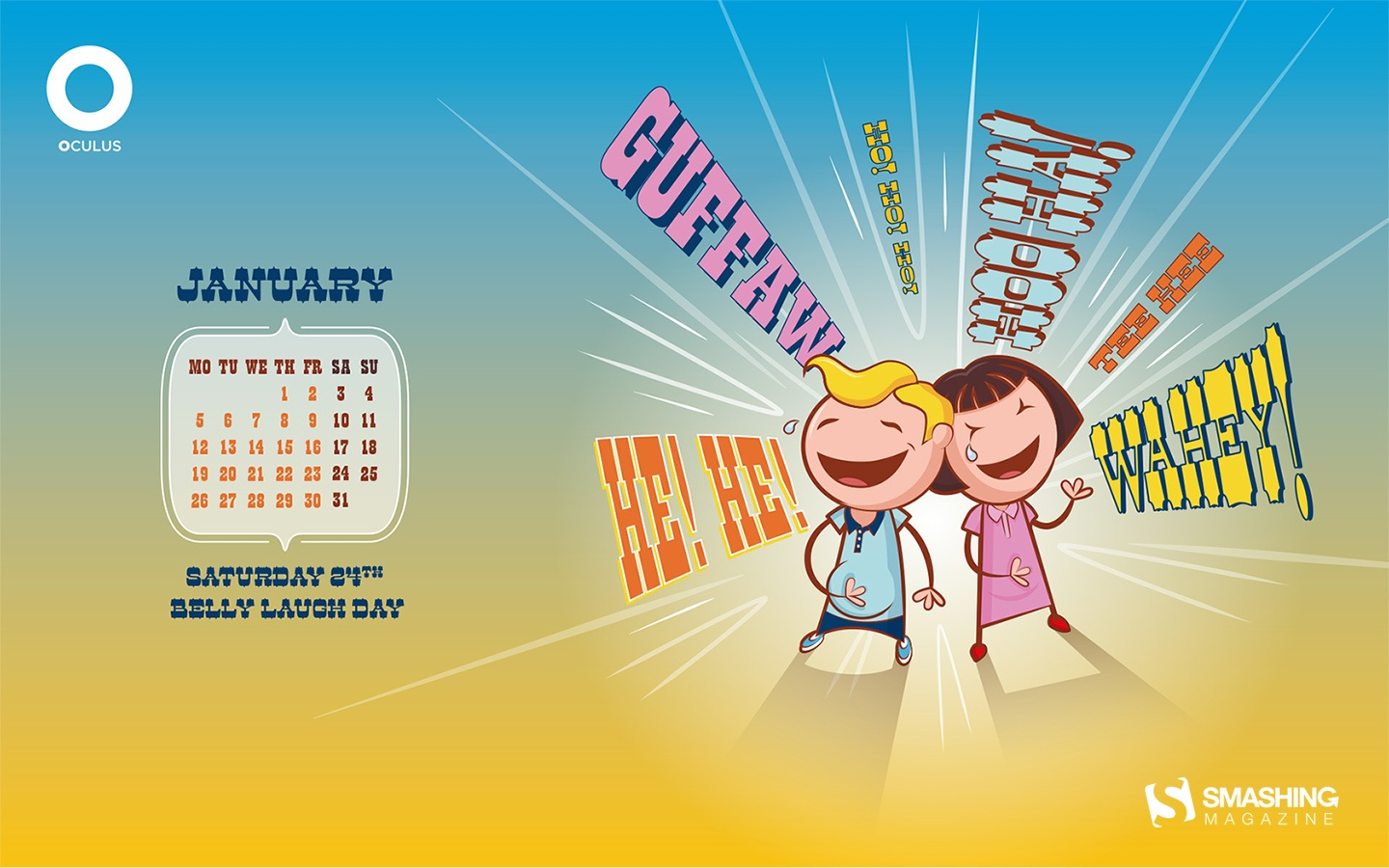 In January Calendar Wallpaper 51307