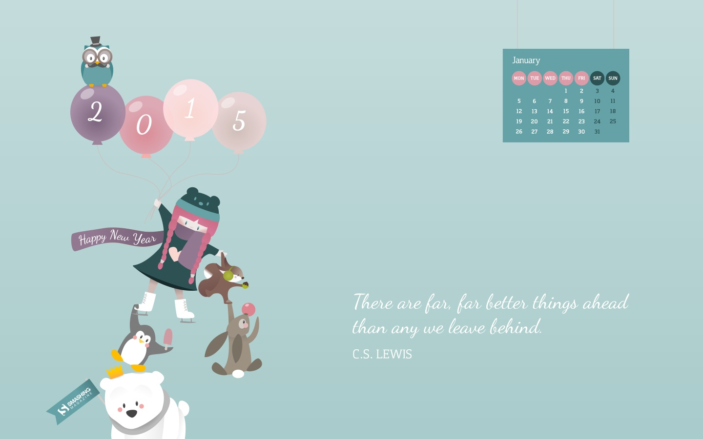 In January Calendar Wallpaper 51317