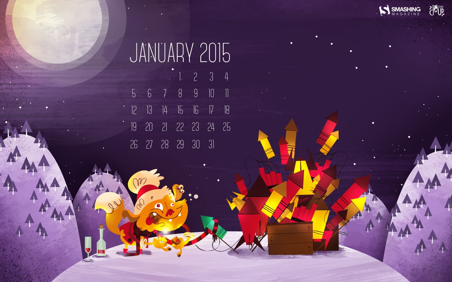 In January Calendar Wallpaper 51324
