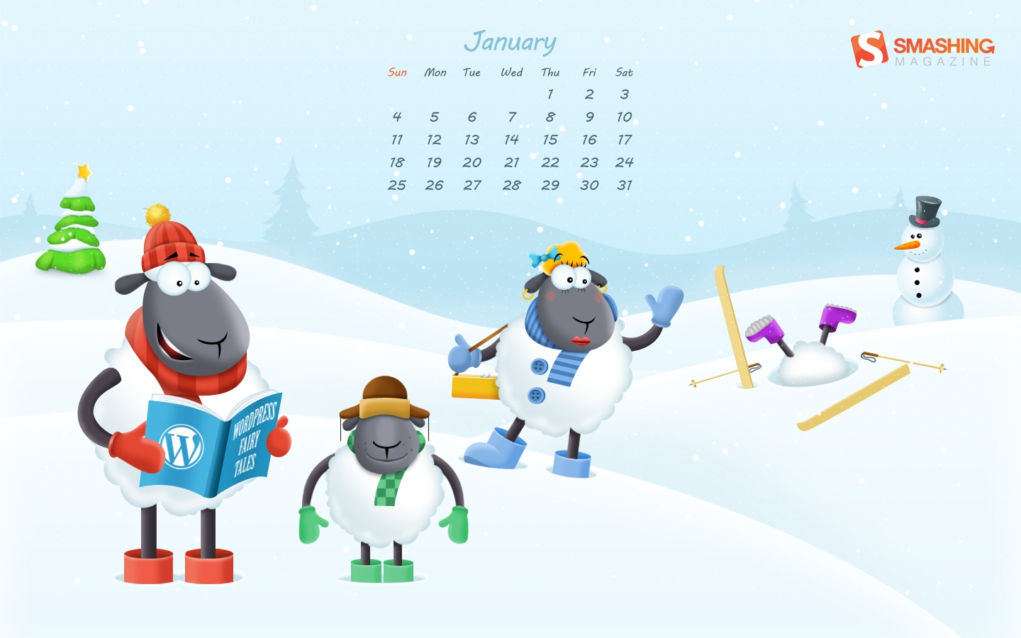 In January Calendar Wallpaper 51330