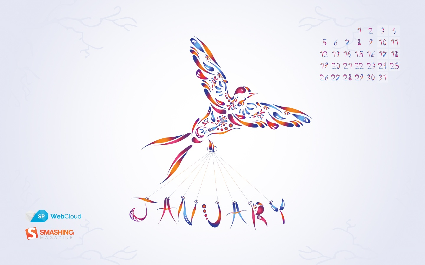 In January Calendar Wallpaper 51342