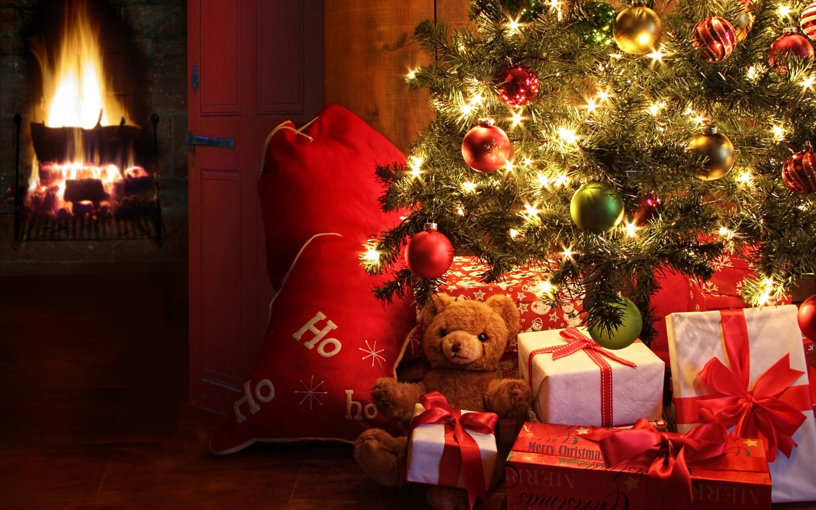 Christmas decoration theme wallpaper 51355